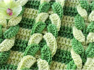 simple textured crochet stitch   the crochet space