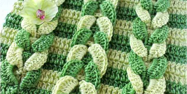 simple textured crochet stitch | the crochet space