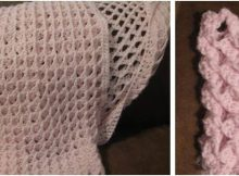 Afton baby blanket | the crochet space