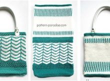 Eve's reversible crochet tote bag | the crochet space