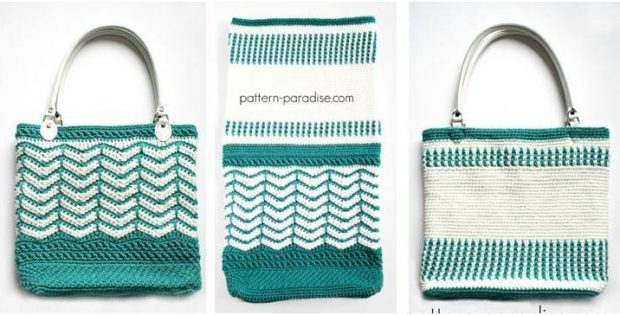 Eves Reversible Crochet Tote Bag Free Crochet Pattern