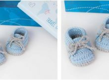 cool crochet baby sneakers | the crochet space