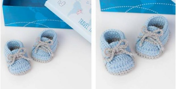 Cool Crochet Baby Sneakers Free Crochet Pattern Video Tutorial