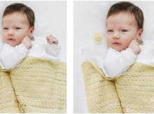 blooming lily crocheted baby blanket   the crochet space