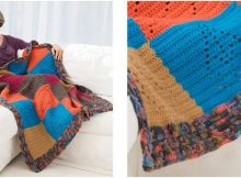 caring comfort crocheted throw | the crochet space