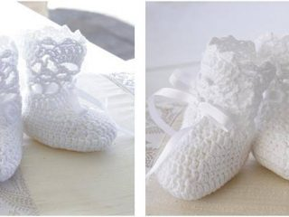 charming crocheted baby socks | the crochet space