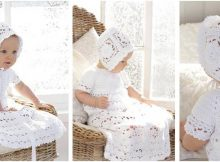 charming crocheted dress set | the crochet space
