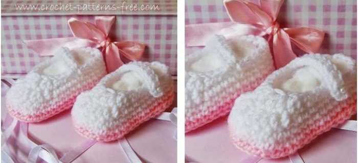 comfy crocheted baby booties | the crochet space