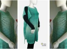 endless summer crocheted tunic | the crochet space