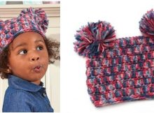irresistibly cute pom-dorable crocheted hat | the crochet space