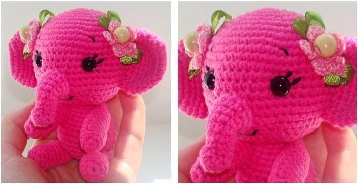 Elephant Mobile Free Crochet Pattern | EASYWOOL | 364x708