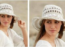 sand voyage crocheted hat | the crochet space