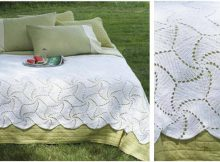 spinning wheels crochet bedspread | the crochet space