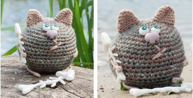 adorably quirky crocheted cat | the crochet space