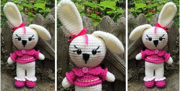 bonnie bunny crocheted doll | the crochet space