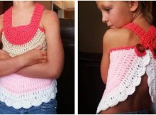 child crocheted swing top | the crochet space