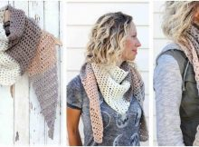 desert winds crocheted scarf | the crochet space