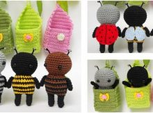 itsy bitsy crochet amigurumi bugs | the crochet space