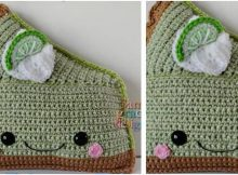 key lime pie kawaii crocheted cuddler | the crochet space