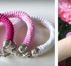 lovely crochet bangle bracelets | the crochet space