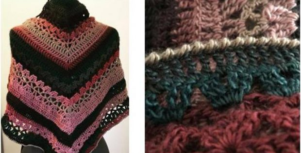summer nights crocheted shawl | the crochet space