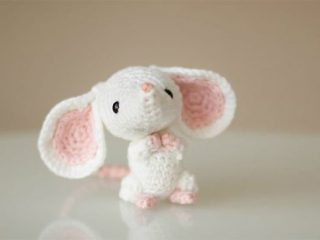 2020 Chinese Crochet Rat | thecrochetspace.com