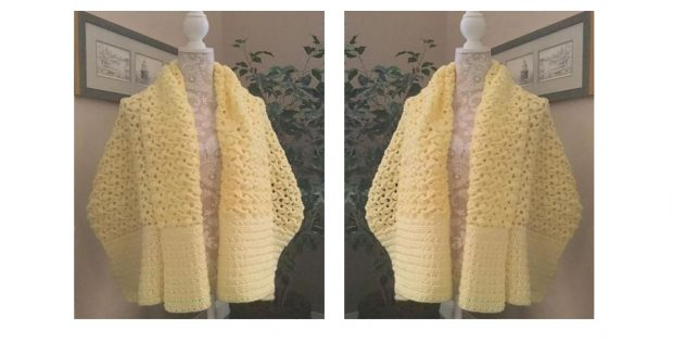 Prayerful Crocheted Prayer Shawl | thecrochetspace.com