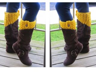 Crocheted Bailey Boot Cuffs   thecrochetspace.com