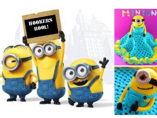 Crocheted Minion Security Blanket   thecrochetspace.com