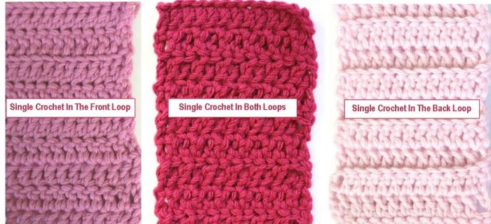 Single Crochet Loop Stitches | thecrochetspace.com