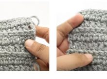 Double Crochet Loop Stitches | thecrochetspace.com