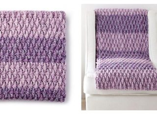 Textured Life Crochet Blanket | thecrochetspace.com