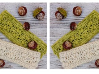Awesome Amarie Crochet Earwarmer | thecrochetspace.com