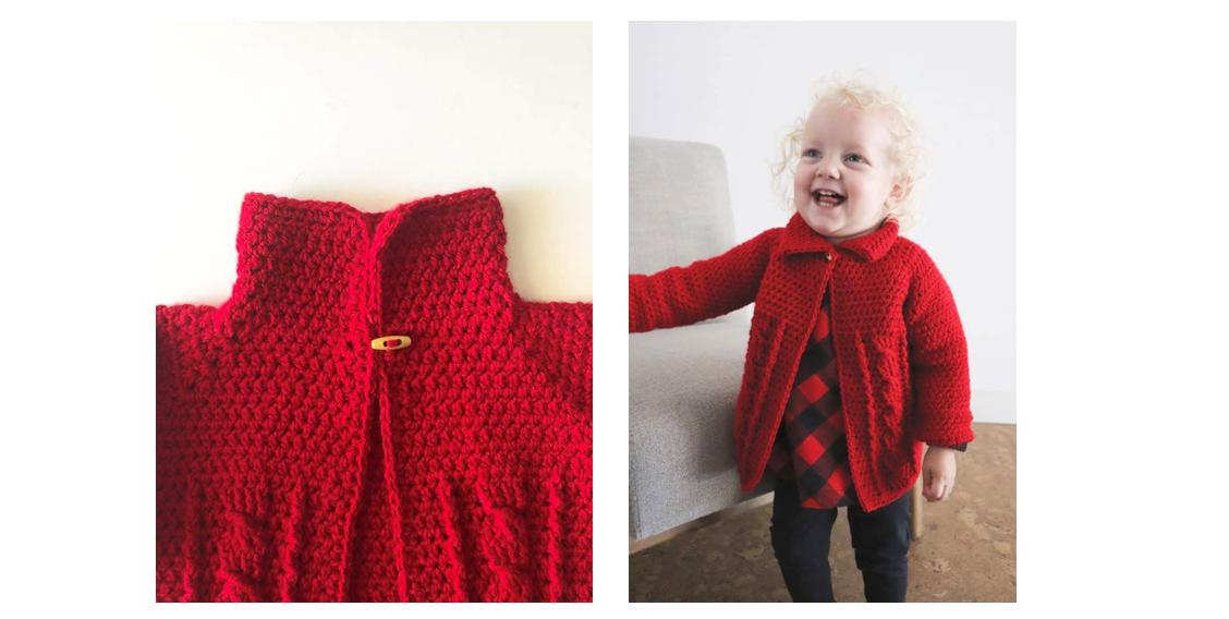 Cable Twist Crochet Sweater | thecrochetspace.com
