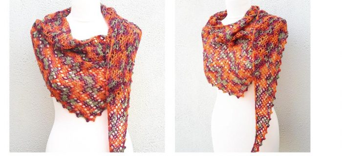 One Skein Crochet Shawl | thecrochetspace.com