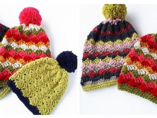 Easy Children's Crochet Hats | thecrochetspace.com