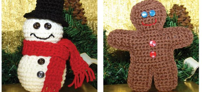 Charming Christmas Crochet Ornaments | thecrochetspace.com