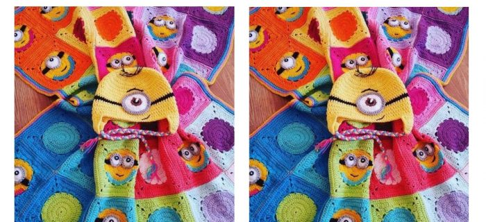 Minions Crochet Baby Blanket | thecrochetspace.com