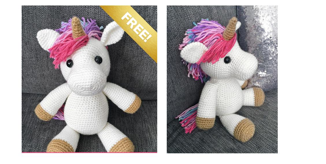 JAZZY THE UNICORN FREE AMIGURUMI PATTERN – CrochetIdeasFree | 568x1128