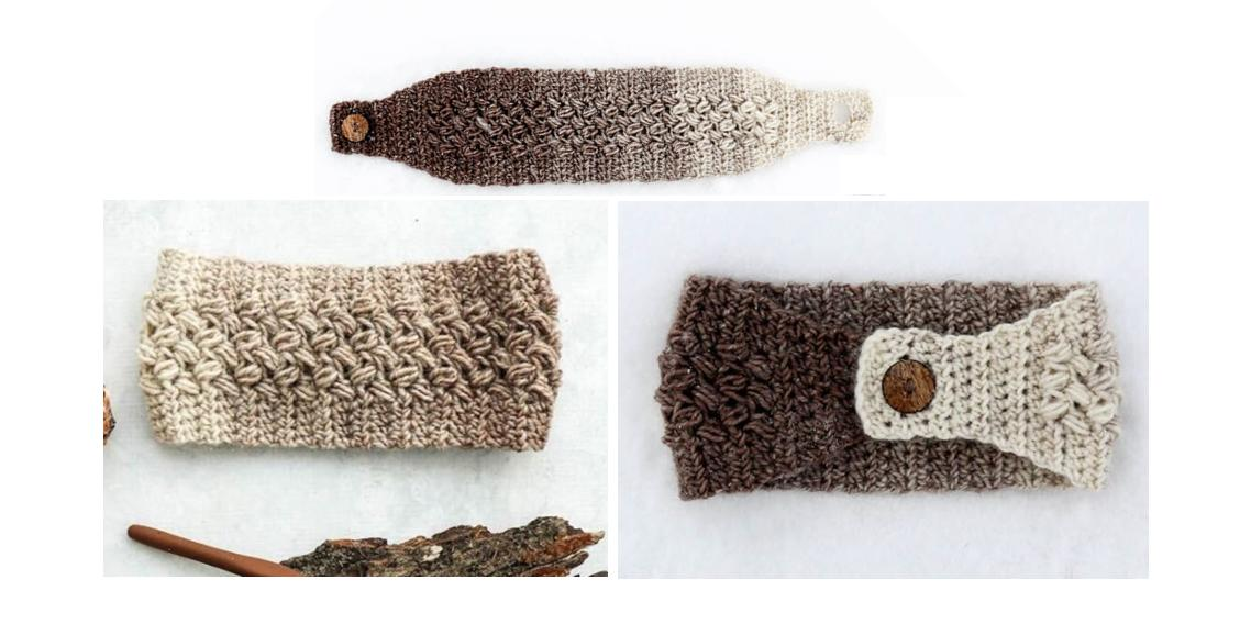Coffee Crochet Ear-Warmer | thecrochetspace.com