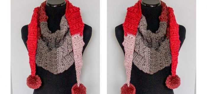 Autumn Chill Crochet Scarf | thecrochetspace.com