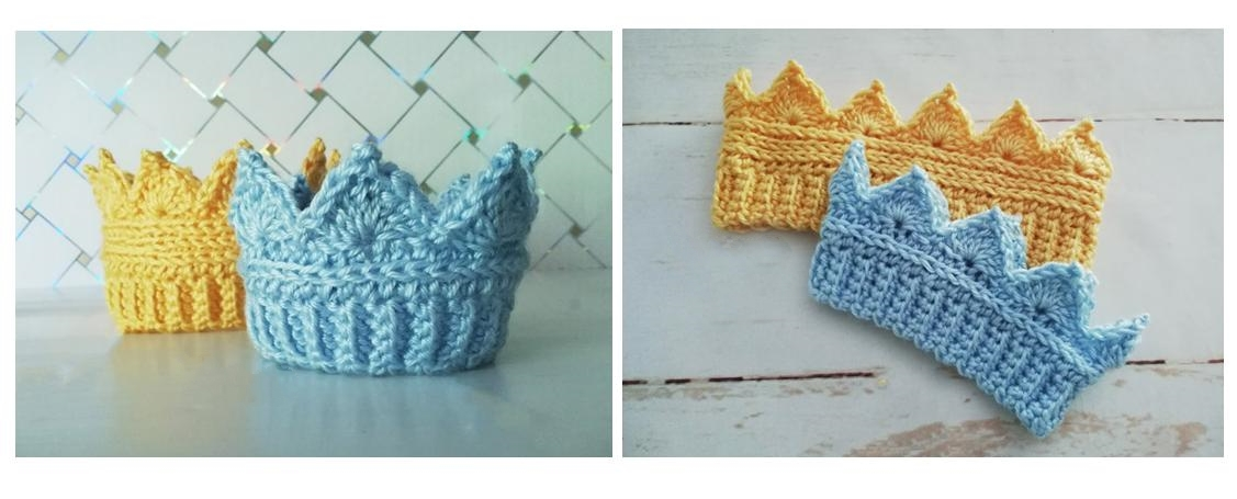 Crochet Crown Ear Warmer | thecrochetspace.com