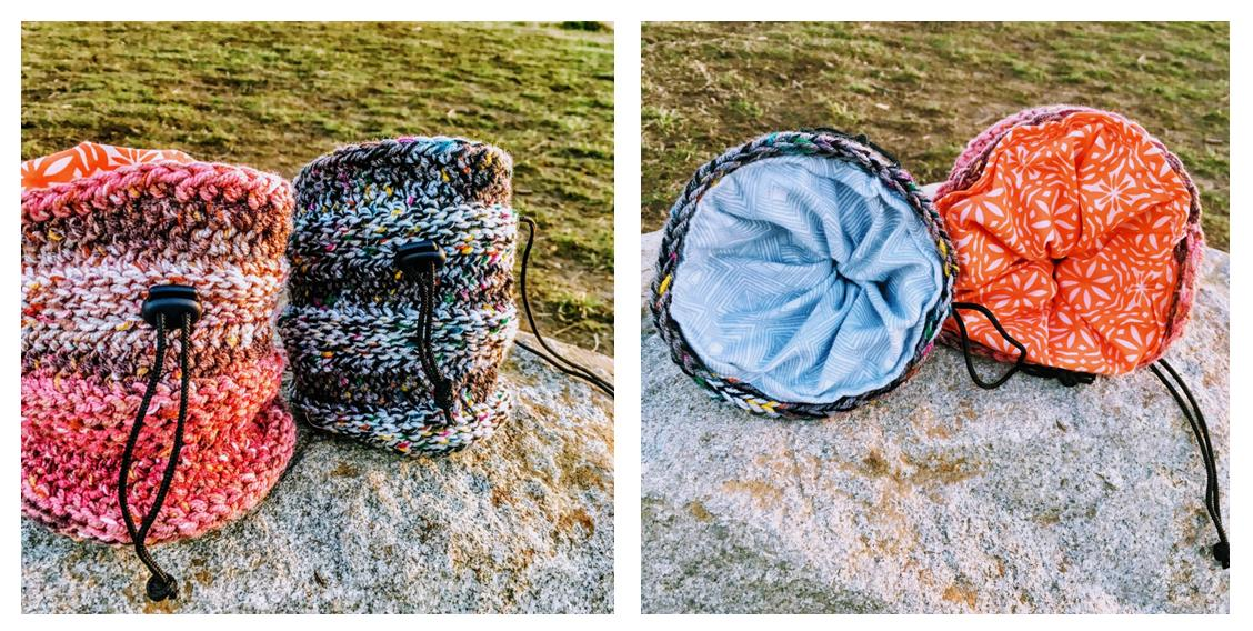 Crochet Muir Chalk Bag | thecrochetspace.com
