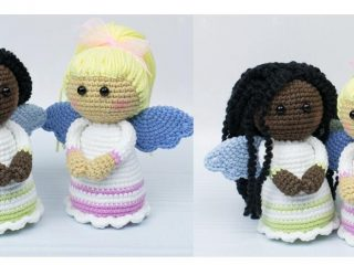 Lovely Crochet Guardian Angels | thecrochetspace.com