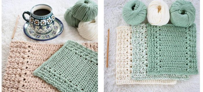 Charming Crocheted Kitchen Set | thecrochetspace.com