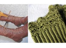 Crochet Belmont Boot Toppers   thecrochetspace.com