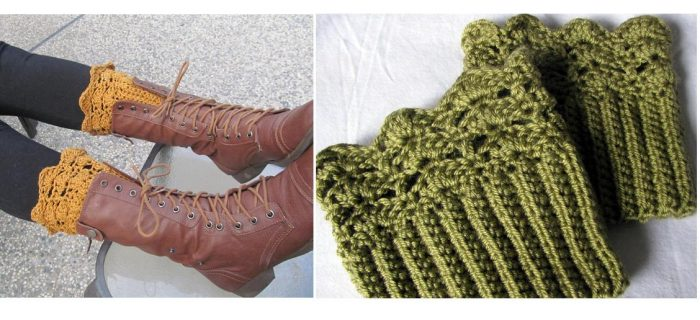 Crochet Belmont Boot Toppers | thecrochetspace.com