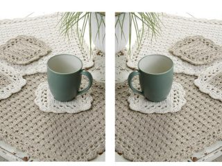 Options Crochet Table Set | thecrochetspace.com
