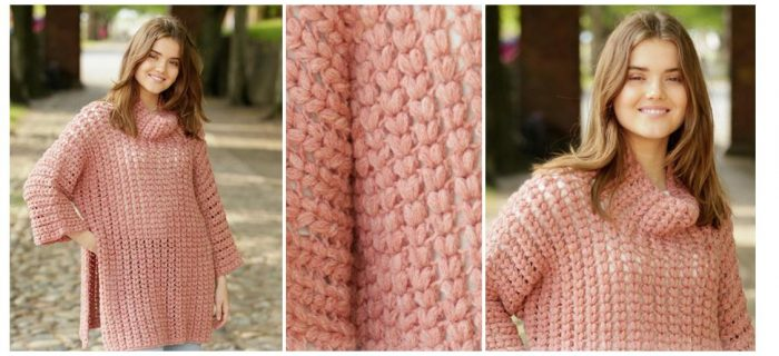 In Pieces Crochet Sweater | thecrochetspace.com