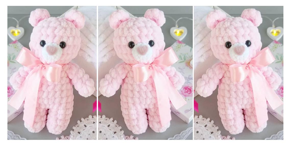 Free Teddy Bear crochet pattern - Amigurumi Today | 568x1128